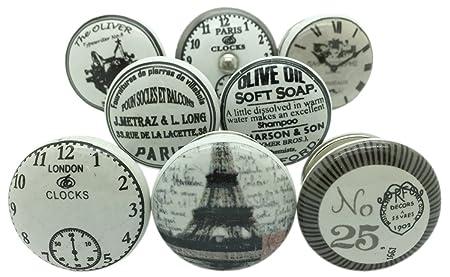 antique porcelain door knobs. Modren Antique G Decor Set Of 8 Grey White Silver Ceramic Door Knobs Vintage Antique  Cupboard Handles Inside Porcelain F