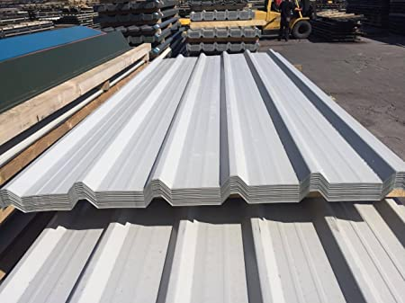 10 x 13ft (3 96m) Box Profile Roofing Sheets 0 7mm Heavy