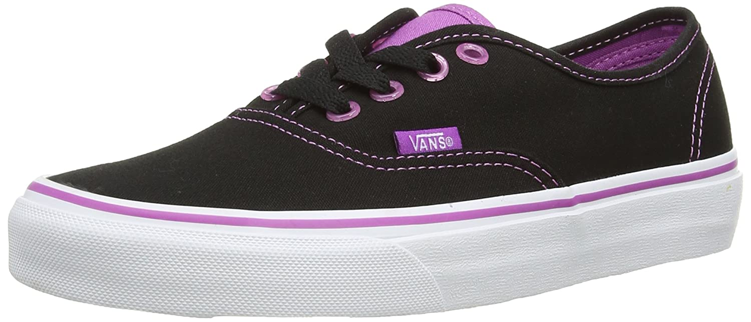 Vans Unisex-Erwachsene Authentic Low-Top  41 EU|Schwarz ((Cleareylts)blk Fc6)