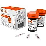 iHealth Gluco strips, Confezione da 50 Strisce Glicemia per Glucometro BG5/BG1