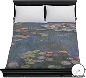 RNK Shops Water Lilies by Claude Monet Duvet Cover - Full/Queen
