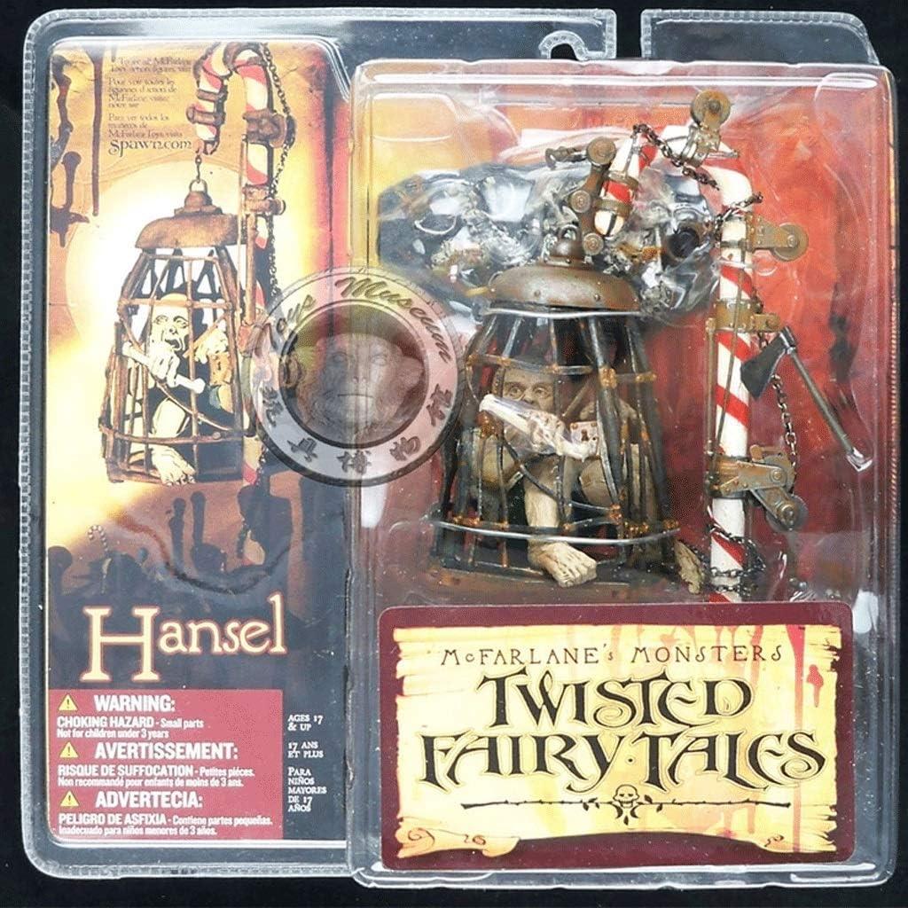 CQ Twisted Fairy.Cuentos Acción Hansel Figura colección de la Serie de los Monstruos 3 Juguetes 5 Pulgadas de MC Farlane (Punto de edición Limitada del colector) Toys