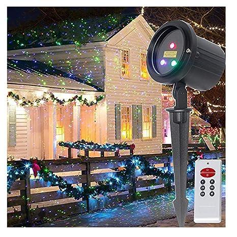 christmas laser lights outdoor rgb moving stars garden laser light projector lsika z aluminum waterproof