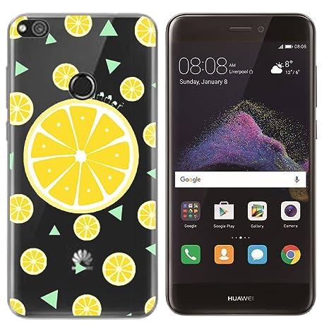 SpiritSun Funda Huawei P8 Lite 2017, Carcasa Transparente ...