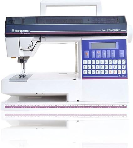 Máquina de coser Husqvarna 400 Computer: Amazon.es: Hogar