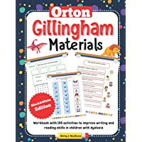 Orton Gillingham Materials. Workbook with 100 activities to improve writing and reading skills in children with dyslexia…