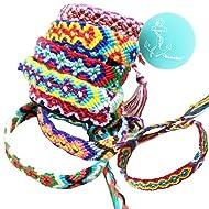 Rimobul Nepal Woven Friendship Bracelets - 8 pack