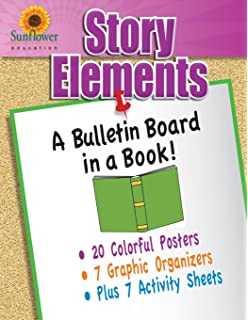 Amazoncom Creative Teaching Press Literary Elements Mini Bulletin