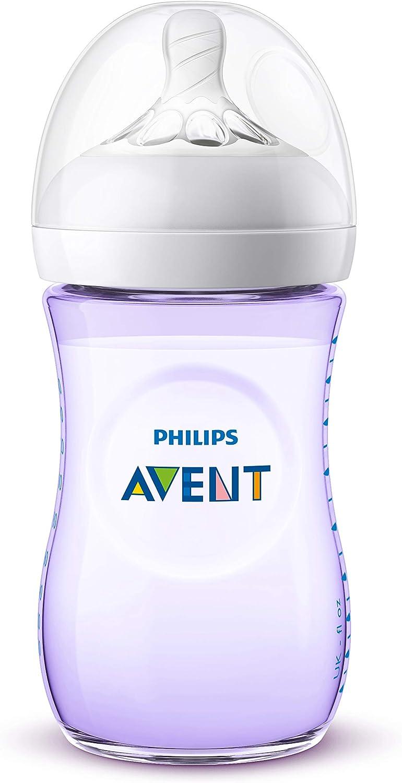 Philips PH-SCF033-27 AVENT Natural Nouveau-né biberon 2 x 260 ml-Transparent