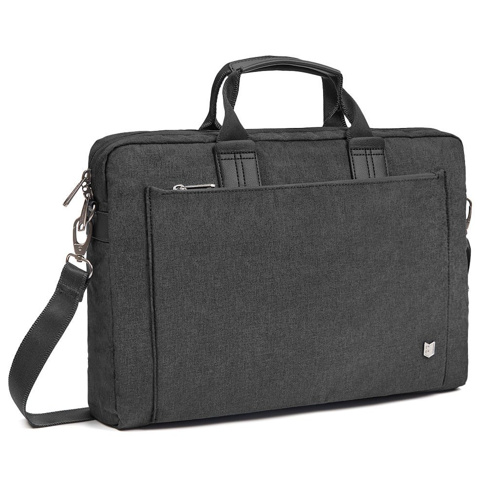 Evecase City 15-15.6 inch Laptop Briefcase Messenger Bag, Professional Water Resistant Business Laptop Shoulder Bag Apple ASUS Acer Samsung Dell Lenovo Chromebook Ultrabook More - Navy Blue 885157983563