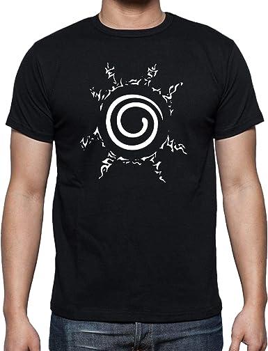 The Fan Tee Camiseta de Hombre Naruto Ninja Manga Anime: Amazon.es: Ropa y accesorios