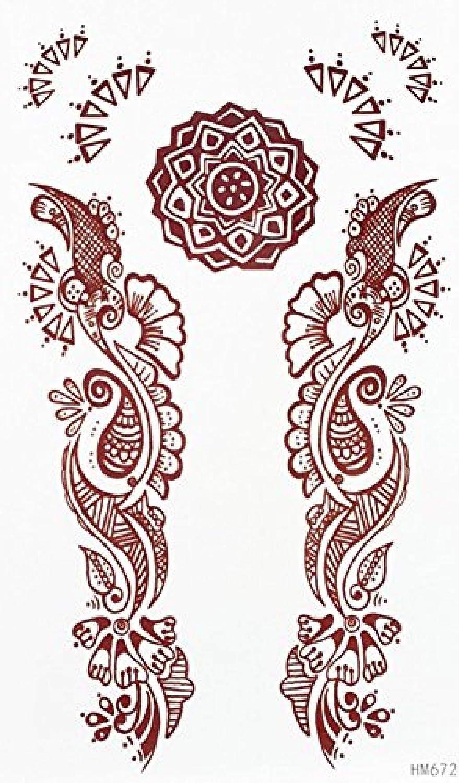 Tatuaje Realista Tamaño 6 69 X3 74 Flores Marrones Medio Estern Y ...