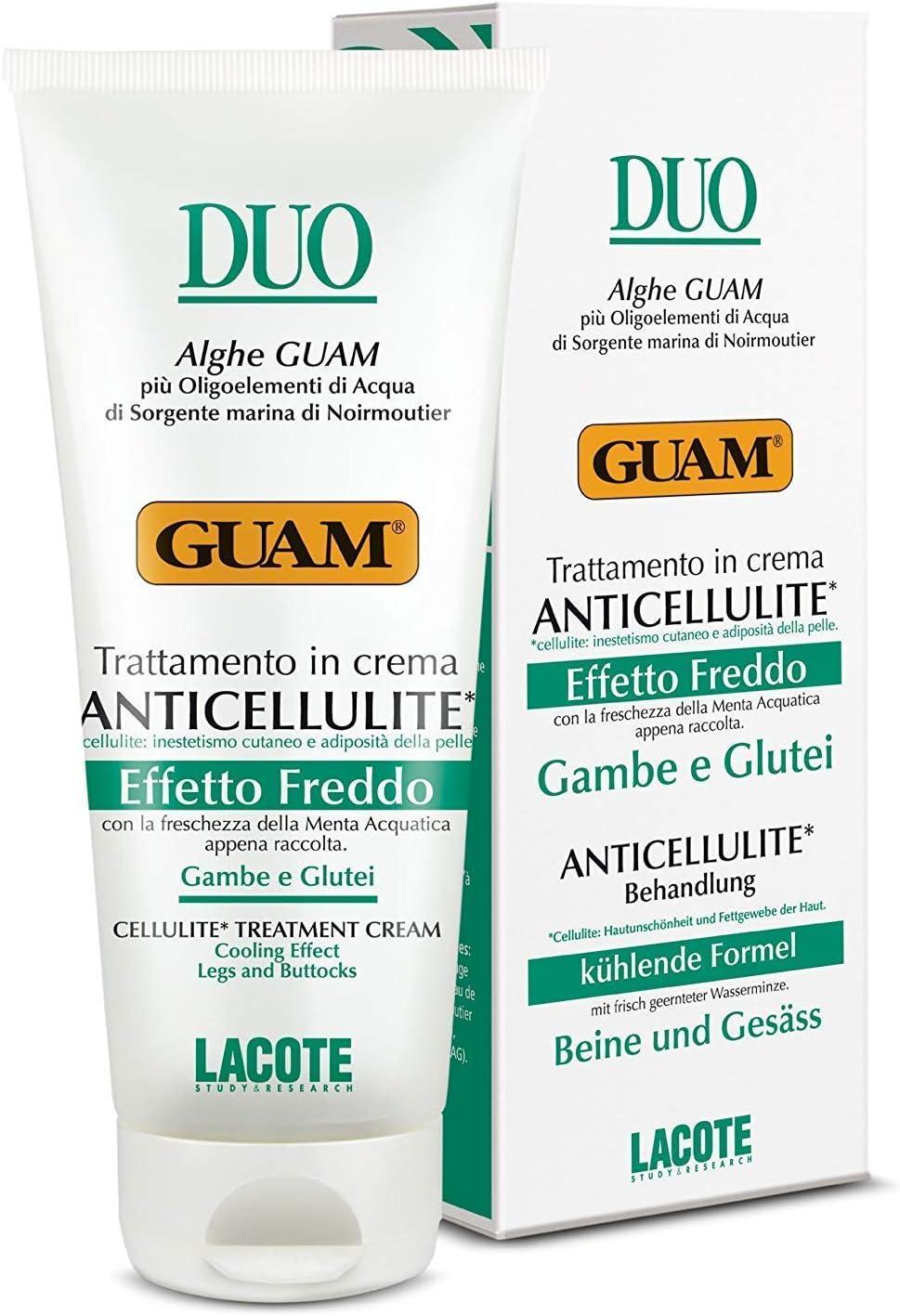 Imagen de la crema anticelulitis Duo Crema Anticelulítico Efecto Frío 200ml disponible en Amazon