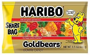 Haribo Goldbears, 3.5 Ounce (Pack of 18)