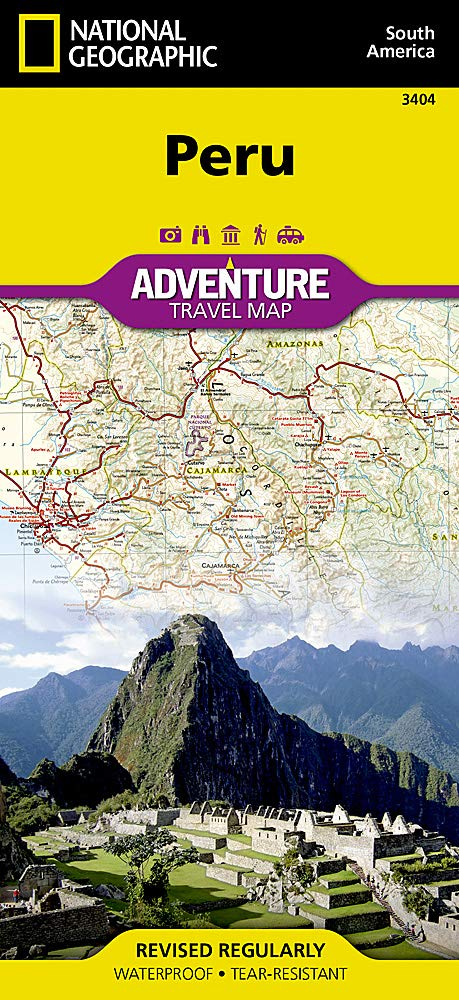 Peru (National Geographic Adventure Map): National ...