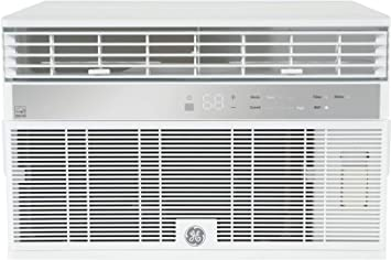 Amazon Com Ge Ahy08lz Smart Window Air Conditioner With 8000 Btu Cooling Capacity Wifi Connect 3 Fan Speeds 115 Volts White Home Kitchen