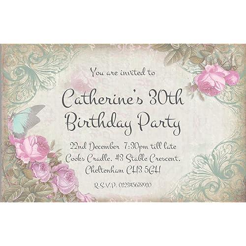 90th Birthday Invitations Amazon Co Uk