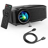 DBPOWER 120-Lumens Portable LCD Video Projector