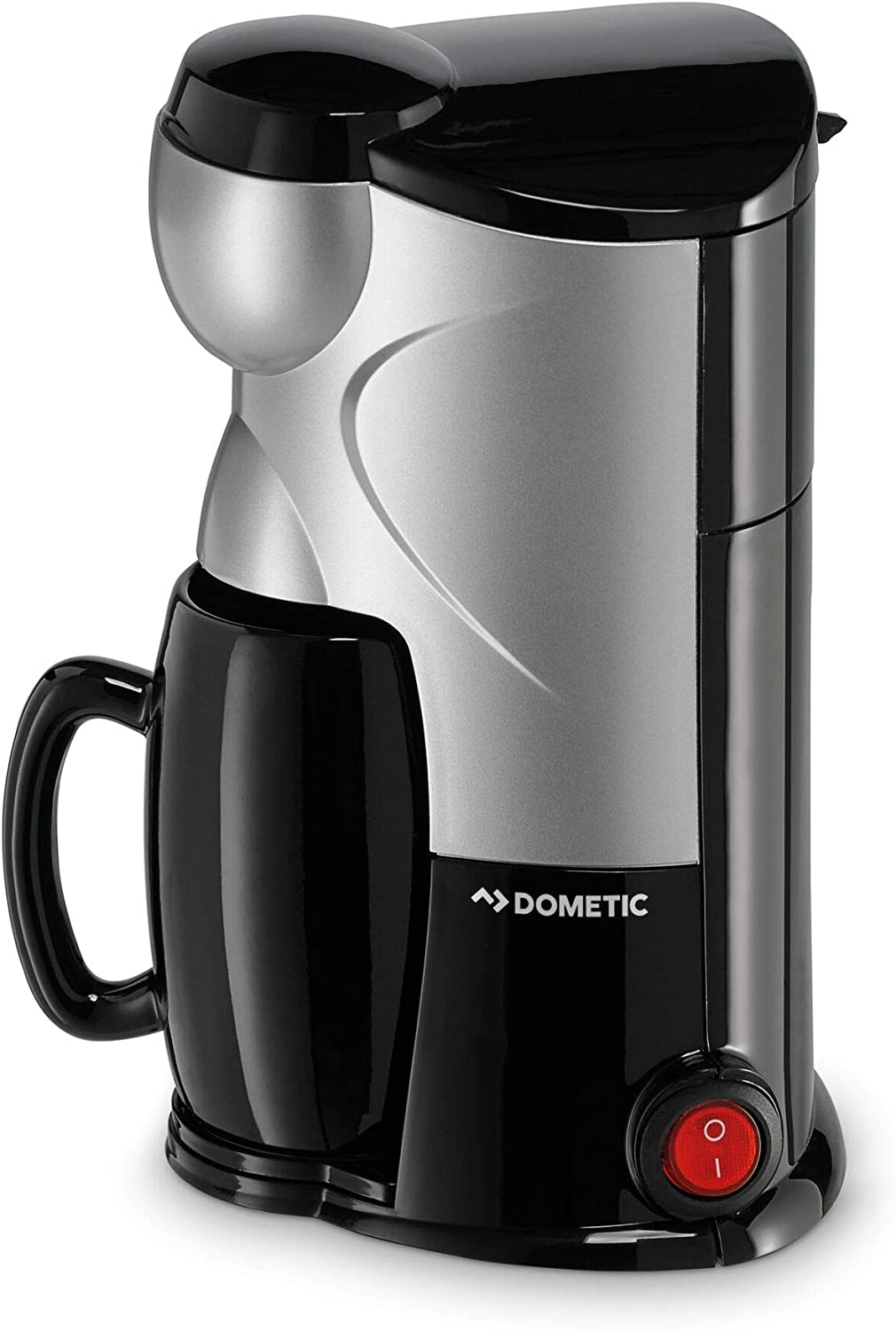 Dometic PerfectCoffe MC 01 - Cafetera de 12 V para una taza Dometic, con conector para mechero