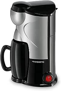 Dometic MC-01 Single Cup Coffee Maker, 12 V, Silver/Black