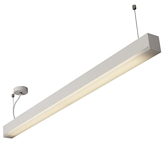 Linear Fluorescent Office Light Fitting - Suspended/Ceiling