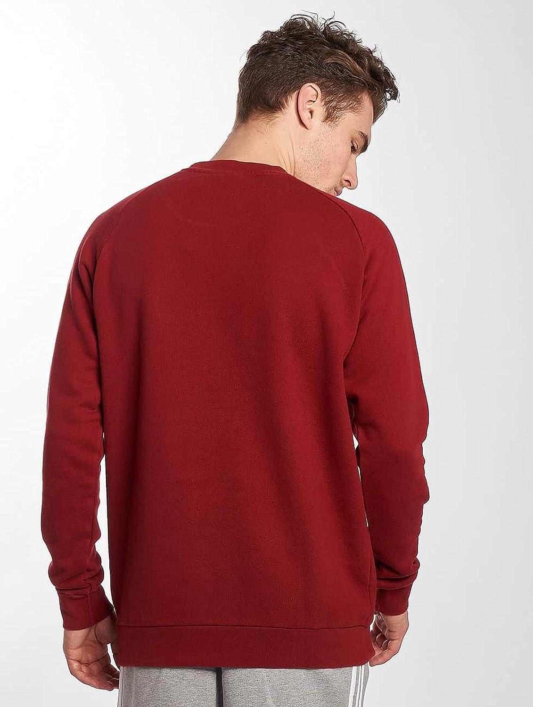 adidas Men's Trefoil Crew Sweatshirt Red