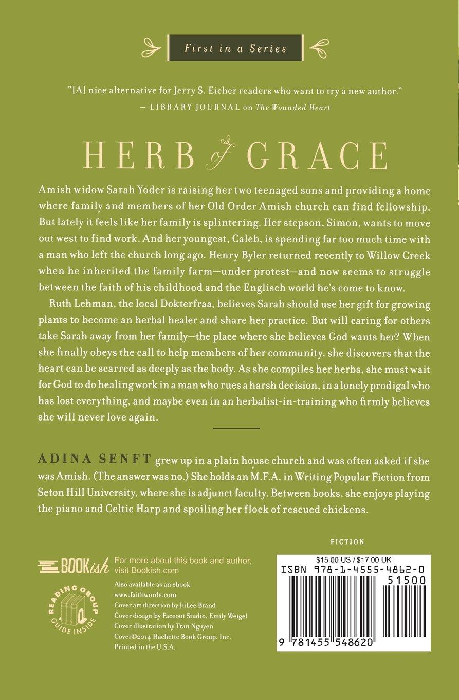 Herb of Grace: A Healing Grace Novel: Adina Senft: 9781455548620:  Amazon.com: Books