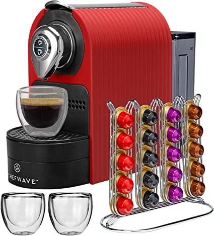 ChefWave Mini Espresso Machine