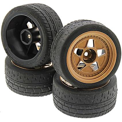 Amazon.com: HPI 1/10 RS4 Sport 3 Drift Neumáticos y ...