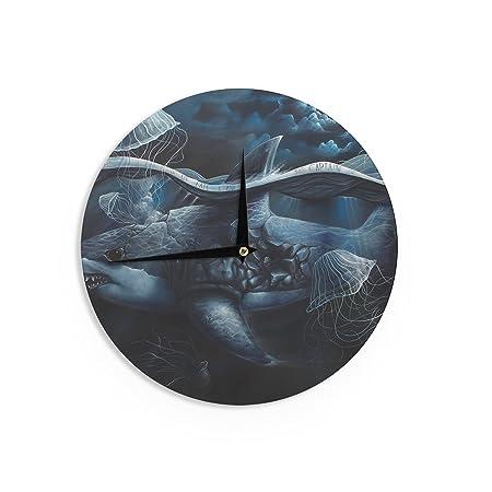 Kess Graham Curran Invictus internos Reloj de Pared, 12