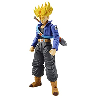 Bandai Hobby Figure-Rise Standard Super Saiyan Trunks Dragon Ball Z Model Kit Figure, BAN217615: Toys & Games