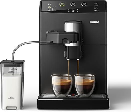 Philips Serie 3000 Cafetera HD8829/01- Máquina de café espresso automática con función para preparar un cappuccino: Amazon.es: Hogar