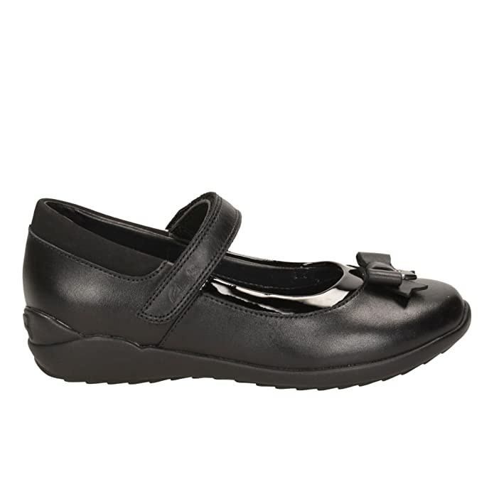 0911041f8 Clarks Ting Fever Junior Girls Mary Jane School Shoes  Amazon.co.uk  Shoes    Bags