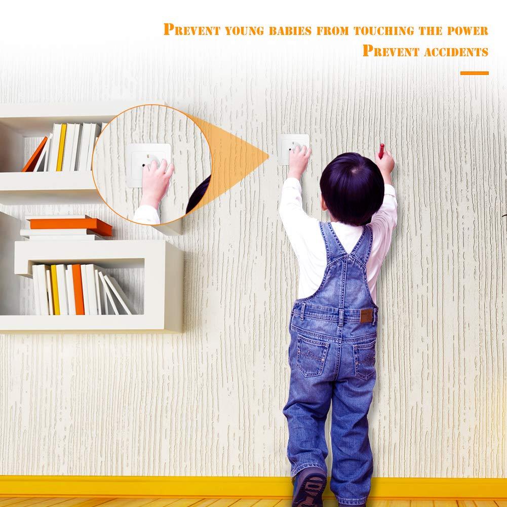 Steckdosensicherung f/ür Baby und Kleinkinder EisEyen 20 St/ück Kindersicherung Kinderschutz f/ür Steckdosen Steckdosenschutz Schutz Steckbar Steckdosensicherung