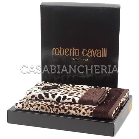 Roberto Cavalli línea Bravo Home-Lote de 2 toallas de manos