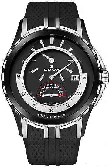 EDOX - Reloj de pulsera hombre Grand Ocean Regulator Fecha Analógico Automático 77002 357 N NIN: Amazon.es: Relojes