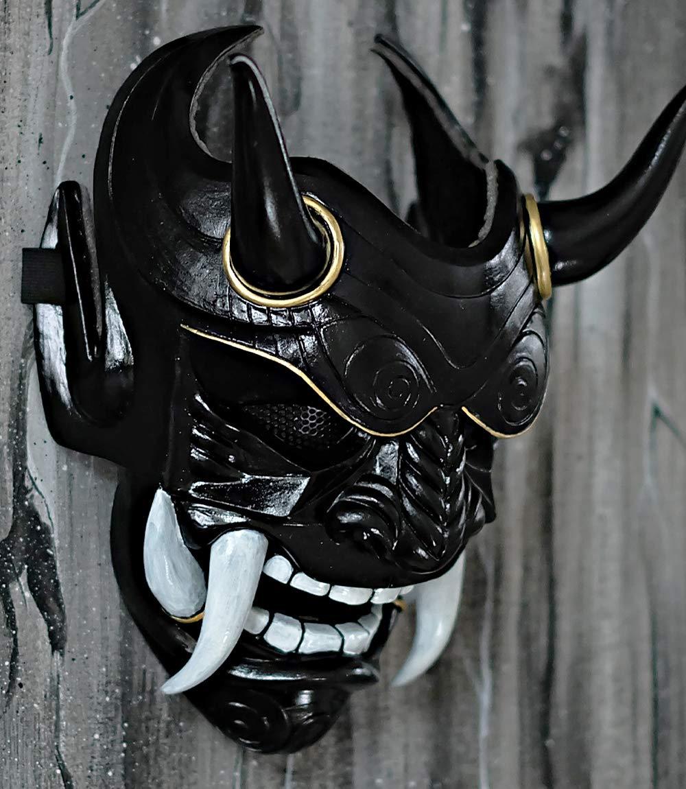 tripple_777 Airsoft Mask Samurai Assassin Demon Oni BB Gun Halloween Costume Evil Cosplay DA06 by tripple_777