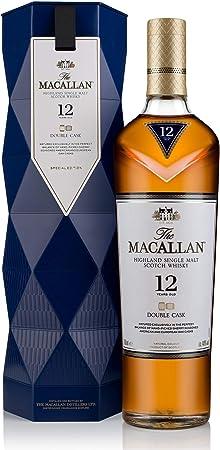 The Macallan Double Cask 12 años Single Malt Scotch Whisky 40% Gifting – Estuche regalo - 700 ml