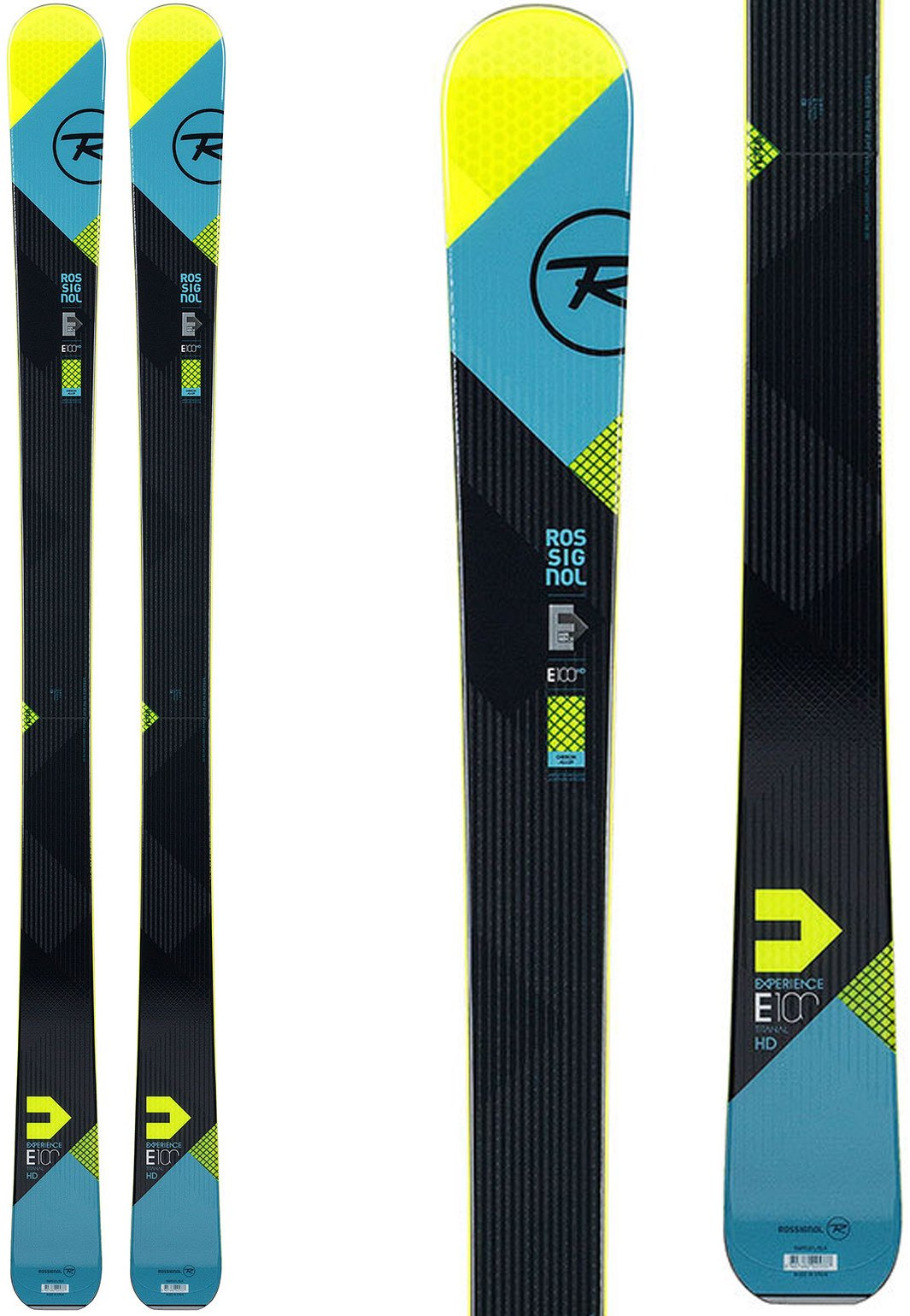Rossignol Men's Experience 100 HD TI: All Mountain Skis