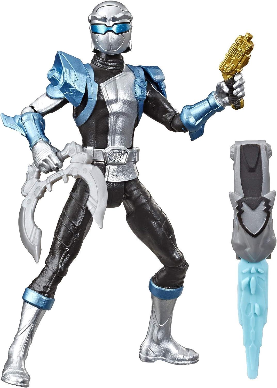 amazon com hasbro power rangers beast morphers silver ranger toys games hasbro power rangers beast morphers silver ranger
