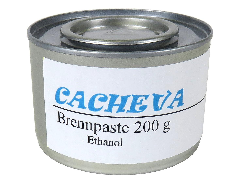 cacheva 566296 Brennpaste 20er Dosen Packung je 200 Gramm