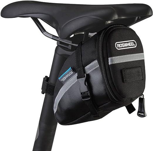 E-Goal ROSWHEEL – Bolsa para sillín Bike Bag Marco Bolsa de ...