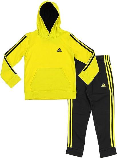 Adidas - Chandal con sudadera con capucha y pantalones Youth Big ...
