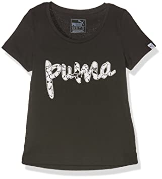 43776c47d Puma Camiseta Manga Corta Style Y Top G Negro 8 años (128 cm): Amazon.es:  Deportes y aire libre