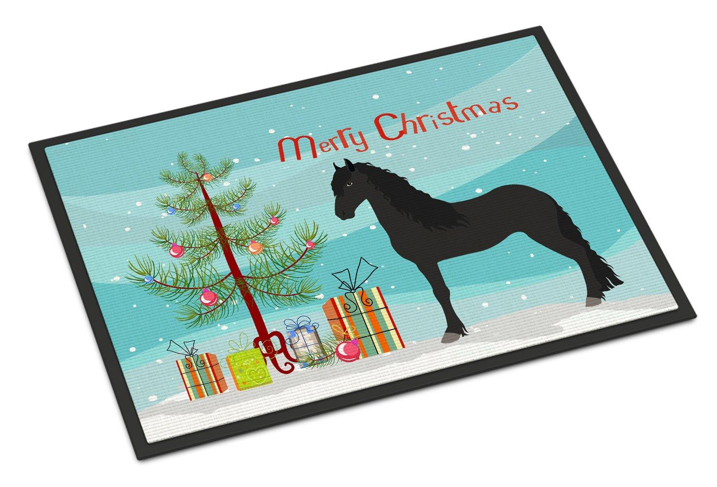 Carolines TreasuresTexas Quail Christmas Doormat 24 x 36 Multicolor