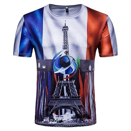 Camisetas, ❤ ⚽️Ba Zha Hei Camisetas Con 3D Estampado Hombre Futbol de Remera
