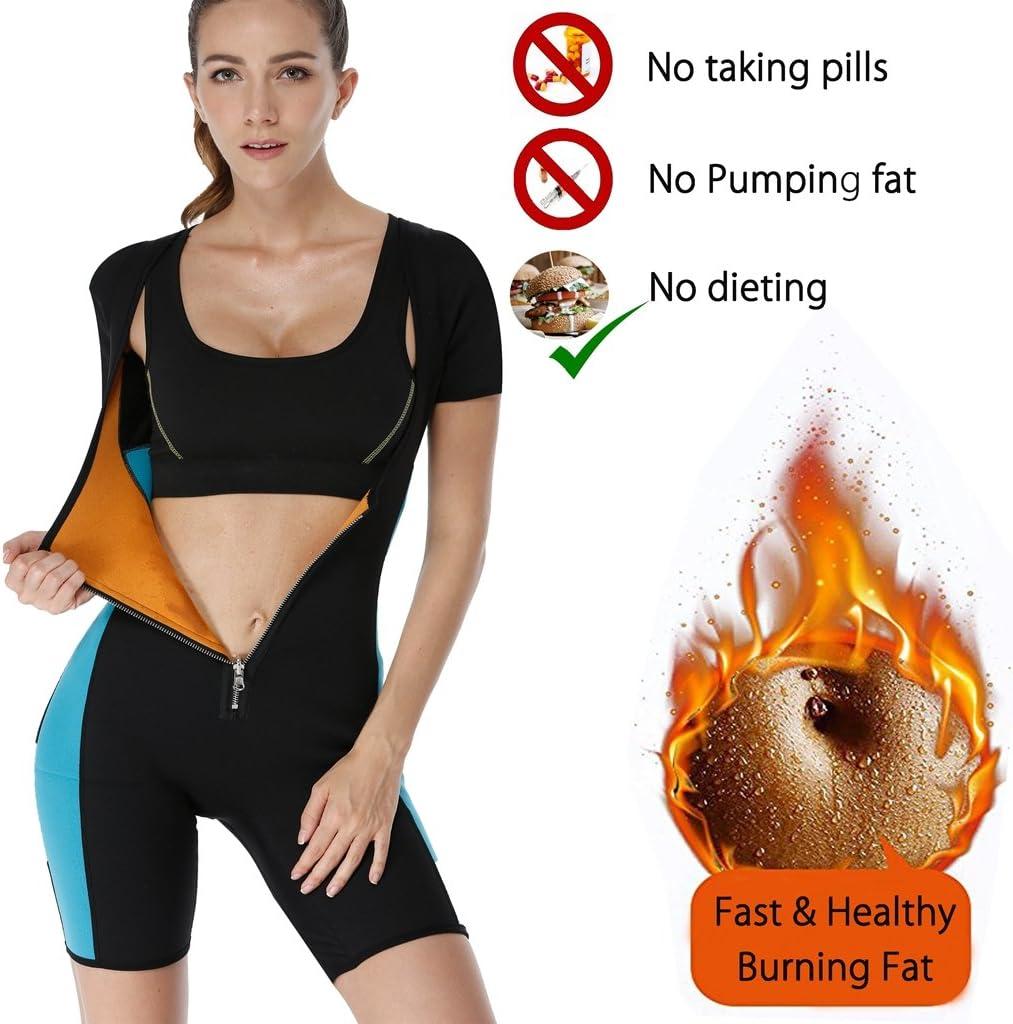Pour femme Combinaison de sudation Ribika Combinaison en n/éopr/ène modelant la forme du corps pour la perte de poids