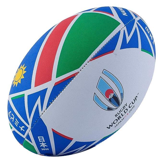 Rugby World Cup 2019 - Balón de Rugby con Bandera de Namibia ...