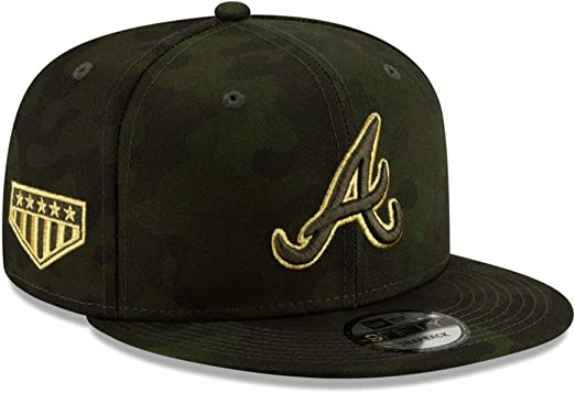 New Era MLB 2019 Armed Forces Day 9Forty Adjustable Dad Hat Cap OSFM