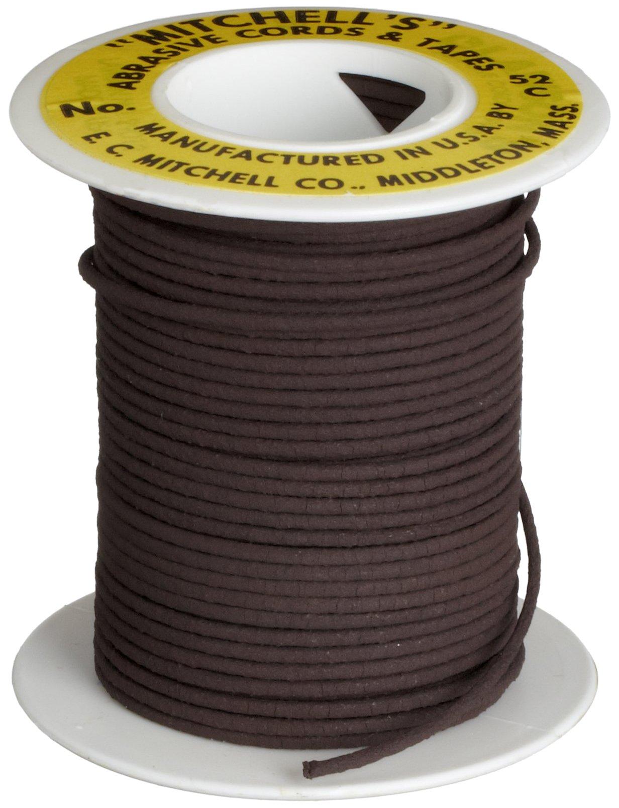 Mitchell Abrasives 52-C Round Crocus Polishing Cord, .055'' Diameter x 25 Feet by Mitchell Abrasives